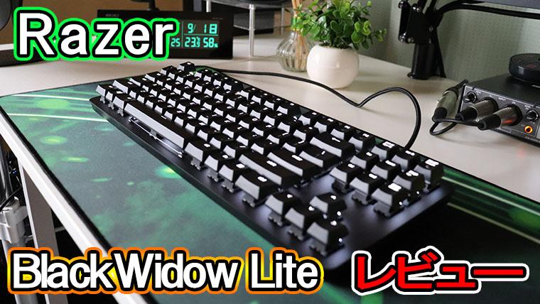 BlackWidow Lite ソフトウェア